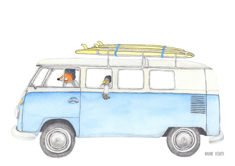 https://nadineroeder.com/wp-content/uploads/2020/02/Nadine-Roeder-Illustration-Surfing-Animals-Club-Surf-Road-Trip-VW-Bus-Bulli.jpg